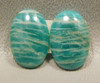 Amazonite Matched Pairs Cabochons Jeweler Stones #15