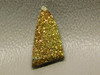 Iridescent Pyrite Small Stone Cabochon Wire Wrapping Supplies #9