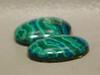 Chrysocolla Malachite Designer Stones Cabochons Arizona #31