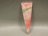 Triangle Pink Cabochon Jewelry Stone Rhodochrosite #2