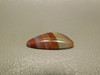 Laguna Agate Translucent Banded Red Triangle Stone Cabochon #24