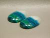 Chrysocolla Malachite Pairs Stones Blue Green White Cabochons #13