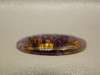 Cacoxenite Amethyst Quartz Purple Gold Gemstone Cabochon #9