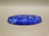 Lapis Lazuli Oval Stone Blue Gold Pyrite Cabochon #20