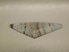 Montana Agate Translucent Spots Triangle Cabochon Stone #8