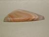 Purple Coyamito Agate Banded Stone Cabochon Triangle Pink #10