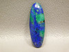 Blue Azurite Green Malachite Loose Stone Cabochon Morenci Arizona #4