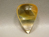 Hematoid Quartz Yellow Inclusions Clear Crystal Hematite Cabochon #Q30