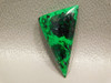 Maw Sit Sit Vibrant Green Jade with Black Stone Cabochon #3