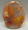 Flame Plume Agate Stone Cabochon Mexico #15