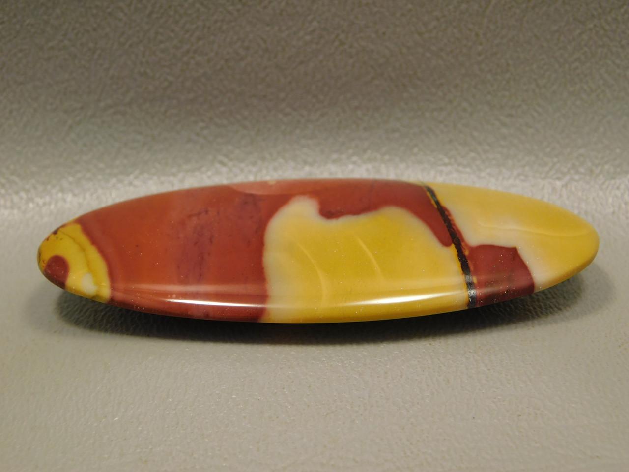 Mookaite Jasper Cabochon Designer Gemstone Yellow #6