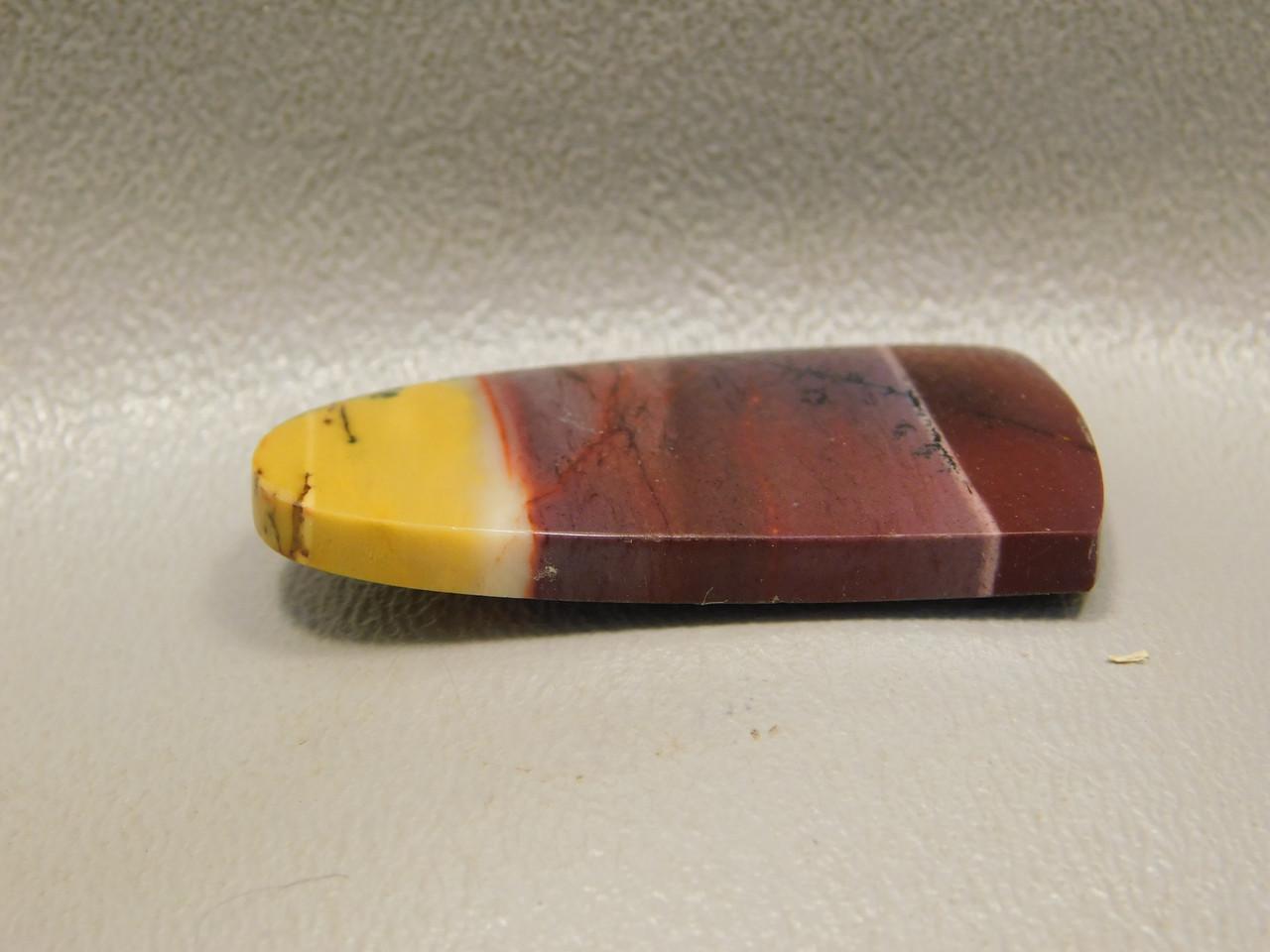 Mookaite Jasper Cabochon Stone Tongue Shaped Gemstone #5