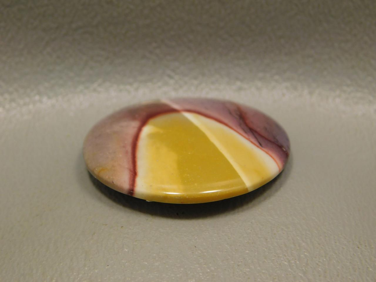 Mookaite Jasper Cabochon Purple Yellow Semiprecious Stone #16