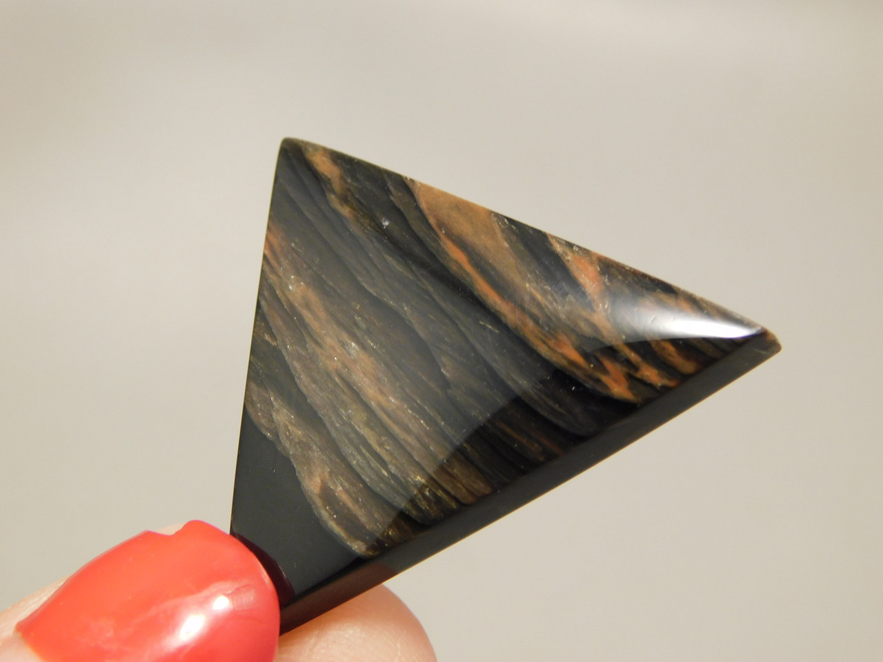 Mahogany Obsidian Designer Cabochon Semiprecious Gemstone #13