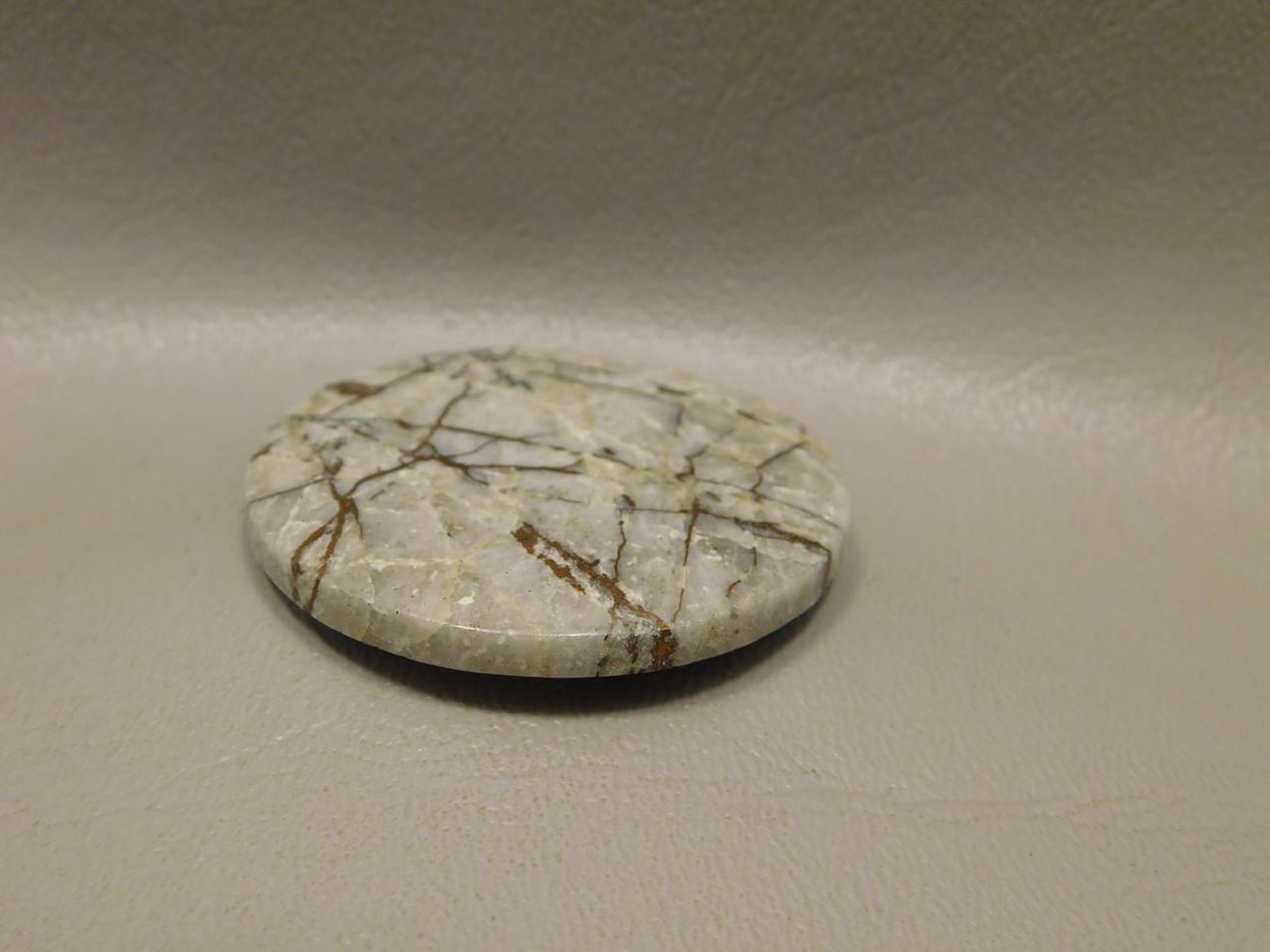 Native Copper 44.5 mm Round Loose Stone Cabochon 2