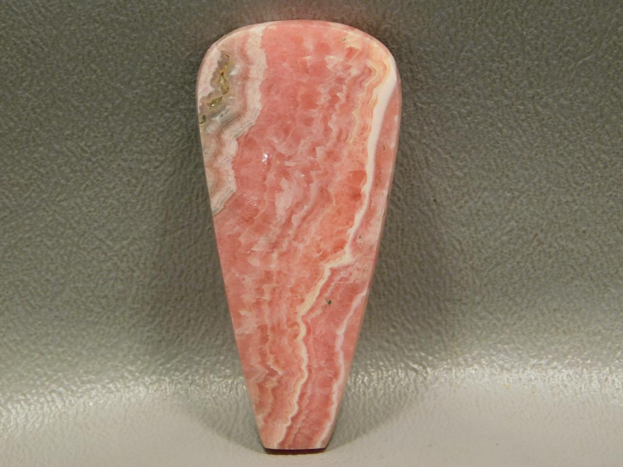 Pink Rhodochrosite Gemstone Stone Cabochon  #7