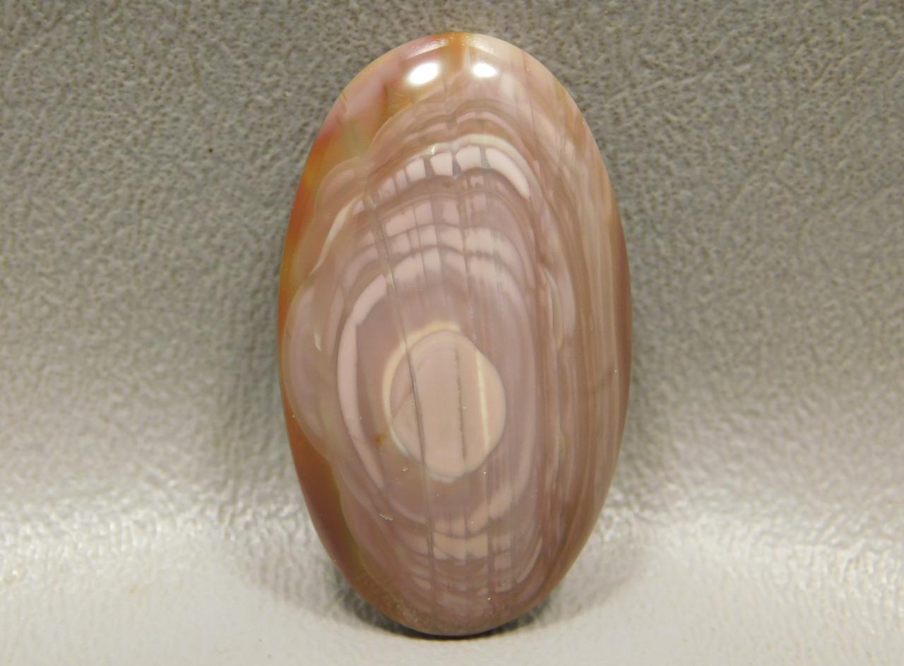 Royal Imperial Jasper Designer Gemstone Cabochon Pink Stone #12