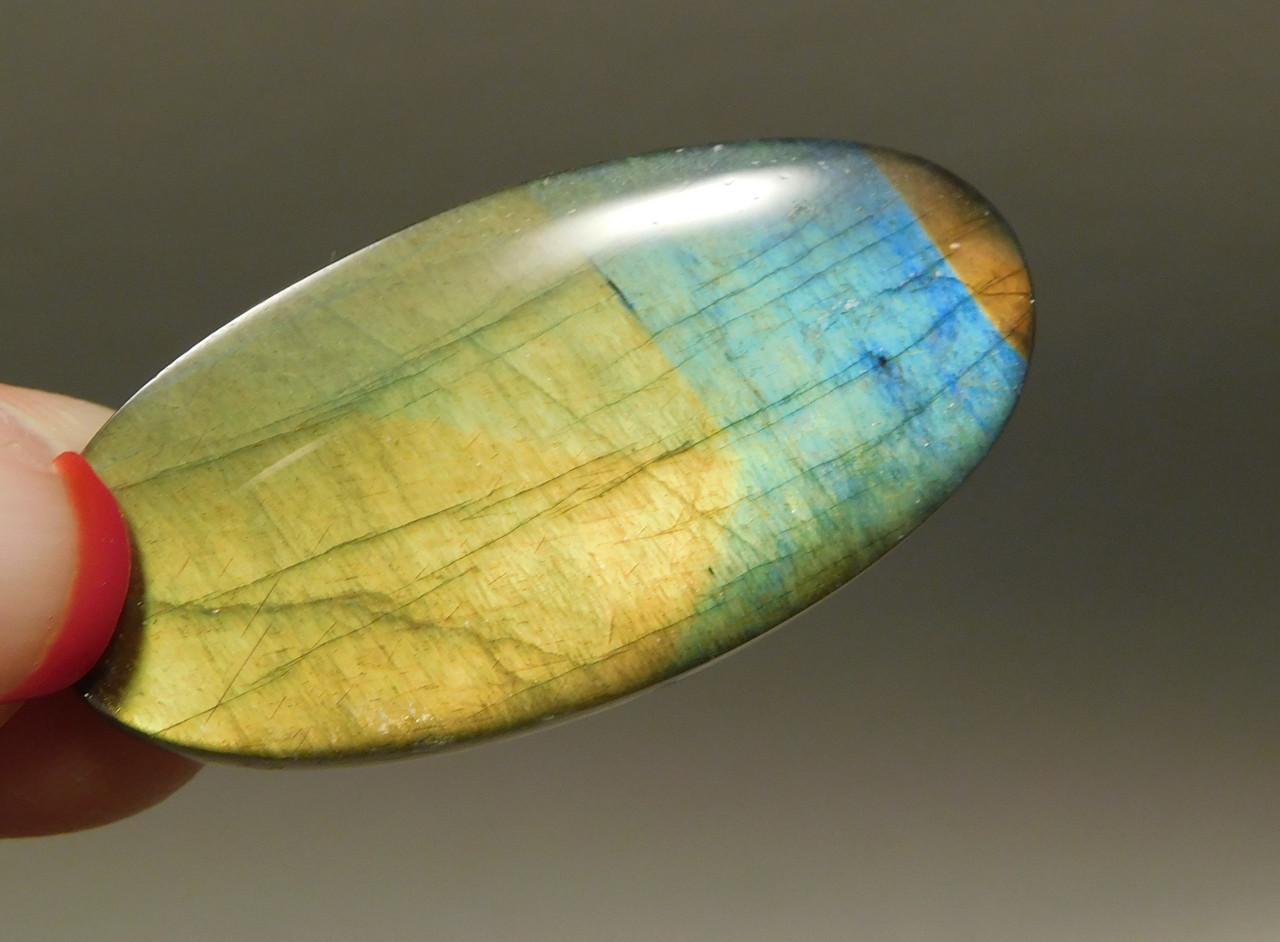 Spectrolite Designer Cabochon Semi Precious Stone Rainbow #2