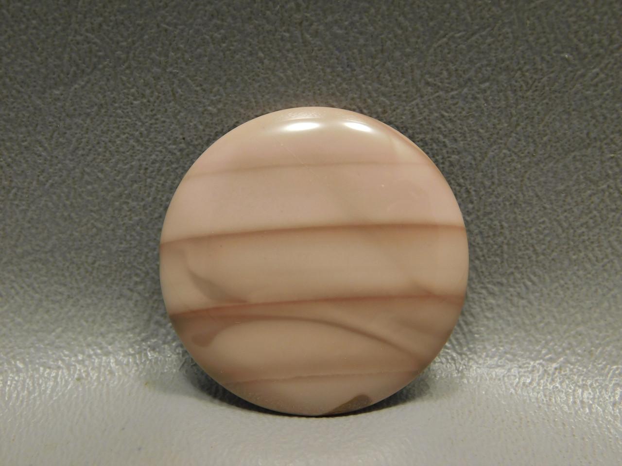 Willow Creek Jasper Cabochon Pink Stone 32 mm Round #3