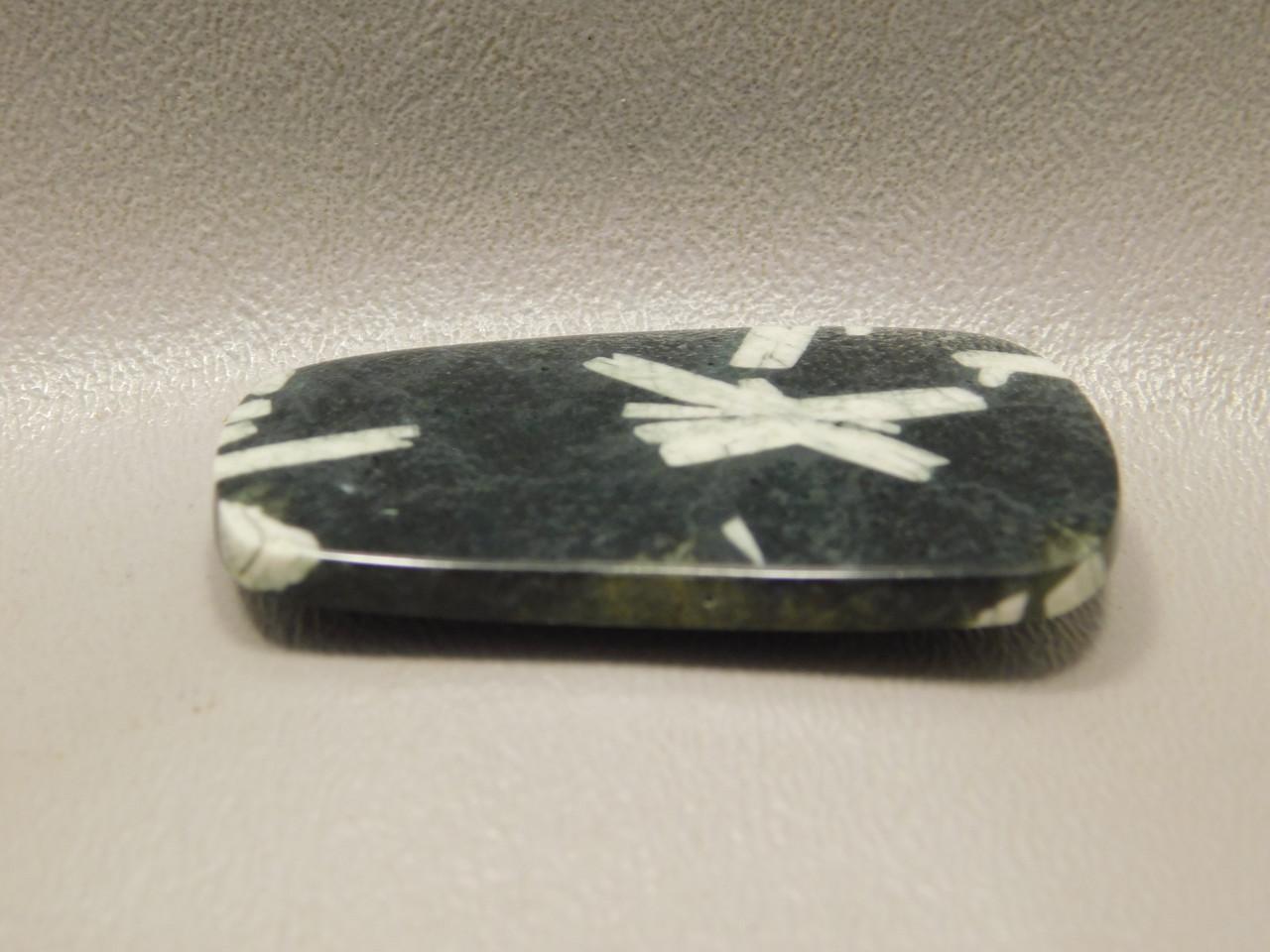 Chinese Writing Rock Cabochon Auburn California Stone  #17