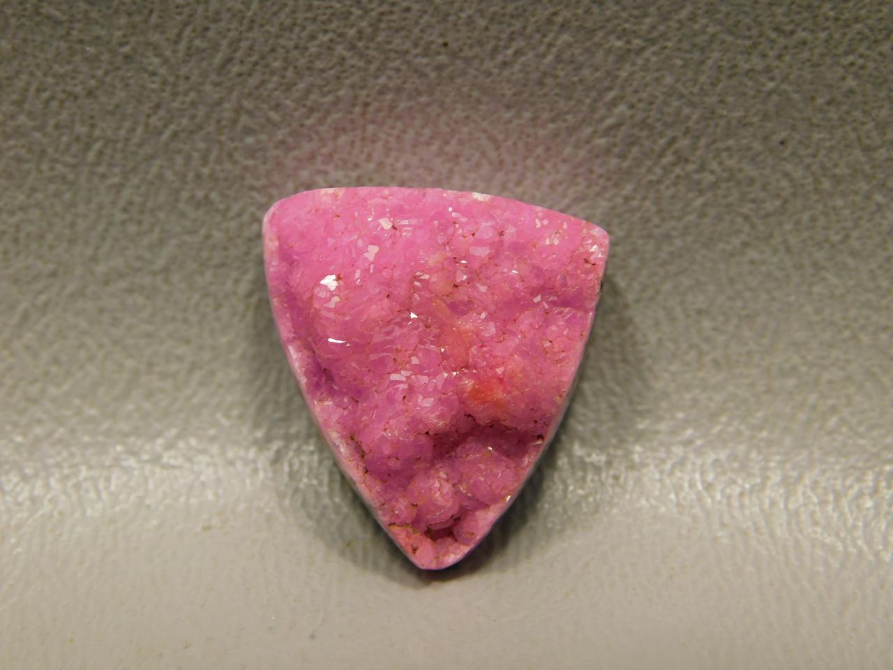 Cobalto Calcite Pink Drusy Crystal Natural Gemstone Cabochon #13