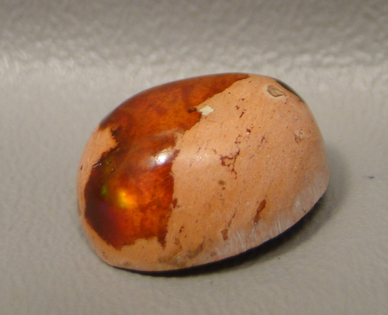 Mexican Fire Opal Cabochon #13