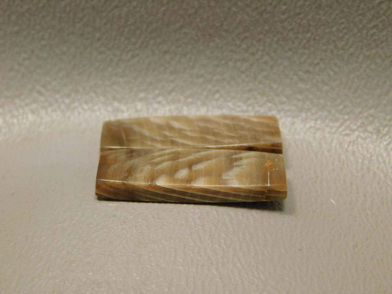 Sycamore Wood Matched Pair Cabochons Bars Jewelry Stones #5