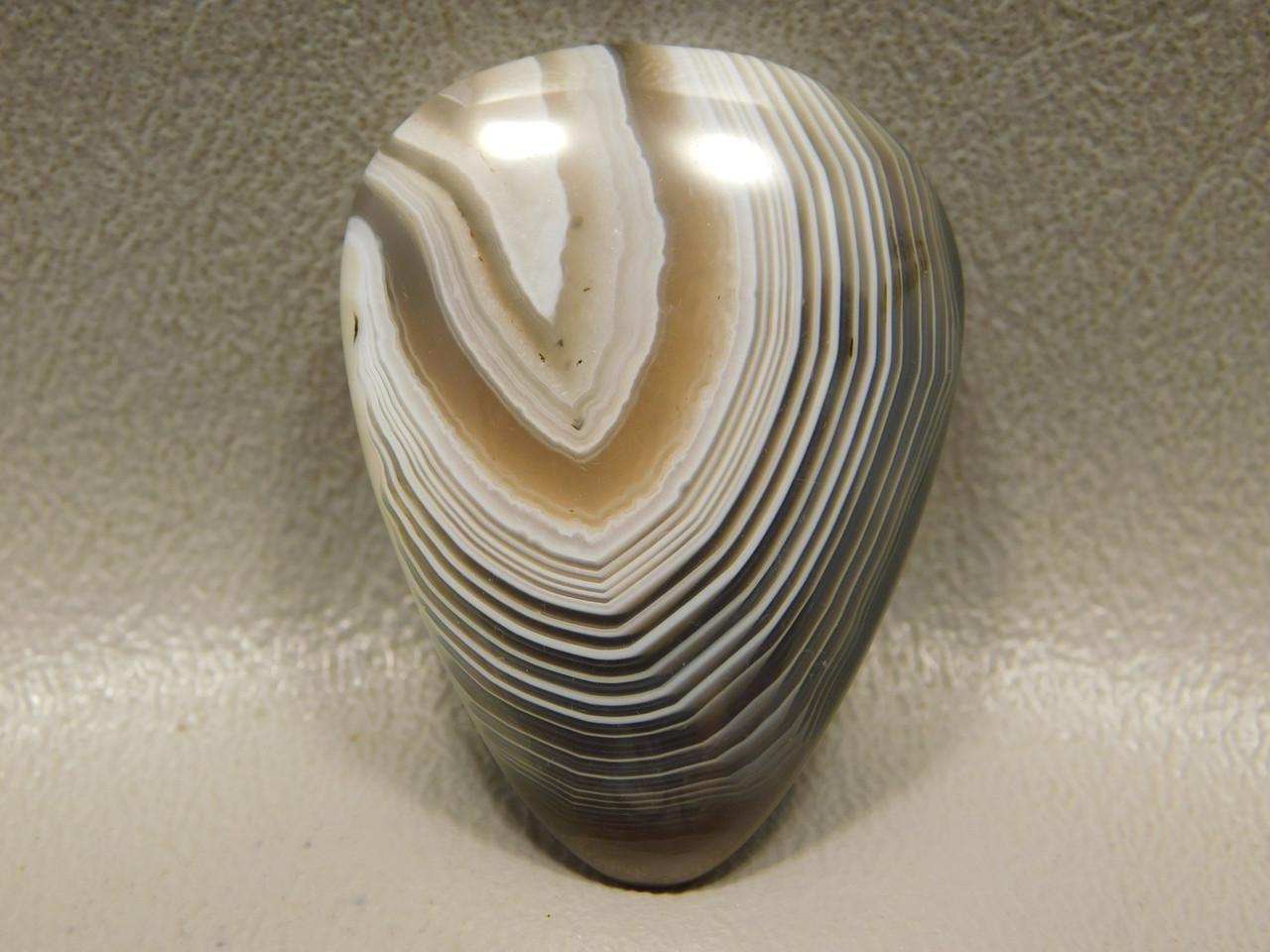 Botswana Agate Banded Gemstone Cabochon Loose Stone #7