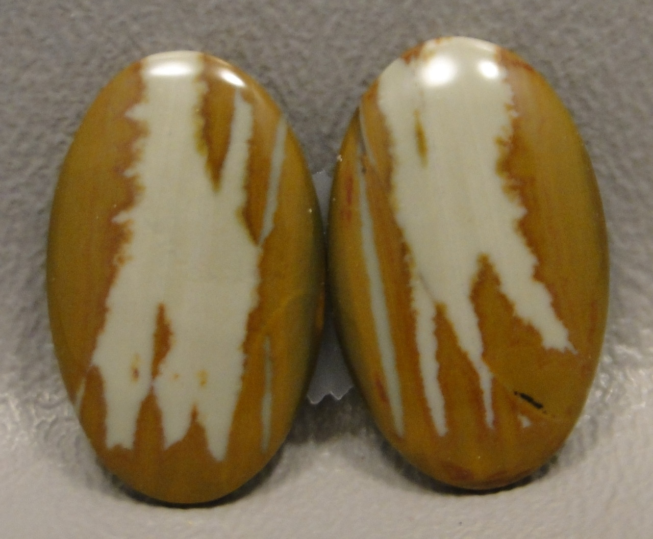 Owyhee Picture Jasper Matched Pair Cabochons #16