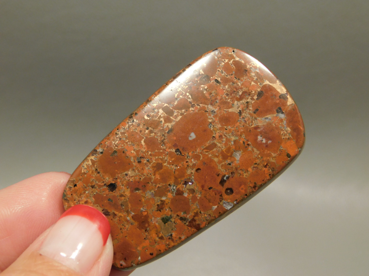 Cabochon Copper Rose Native Copper Stone Semi Precious Rare Gemstone #7