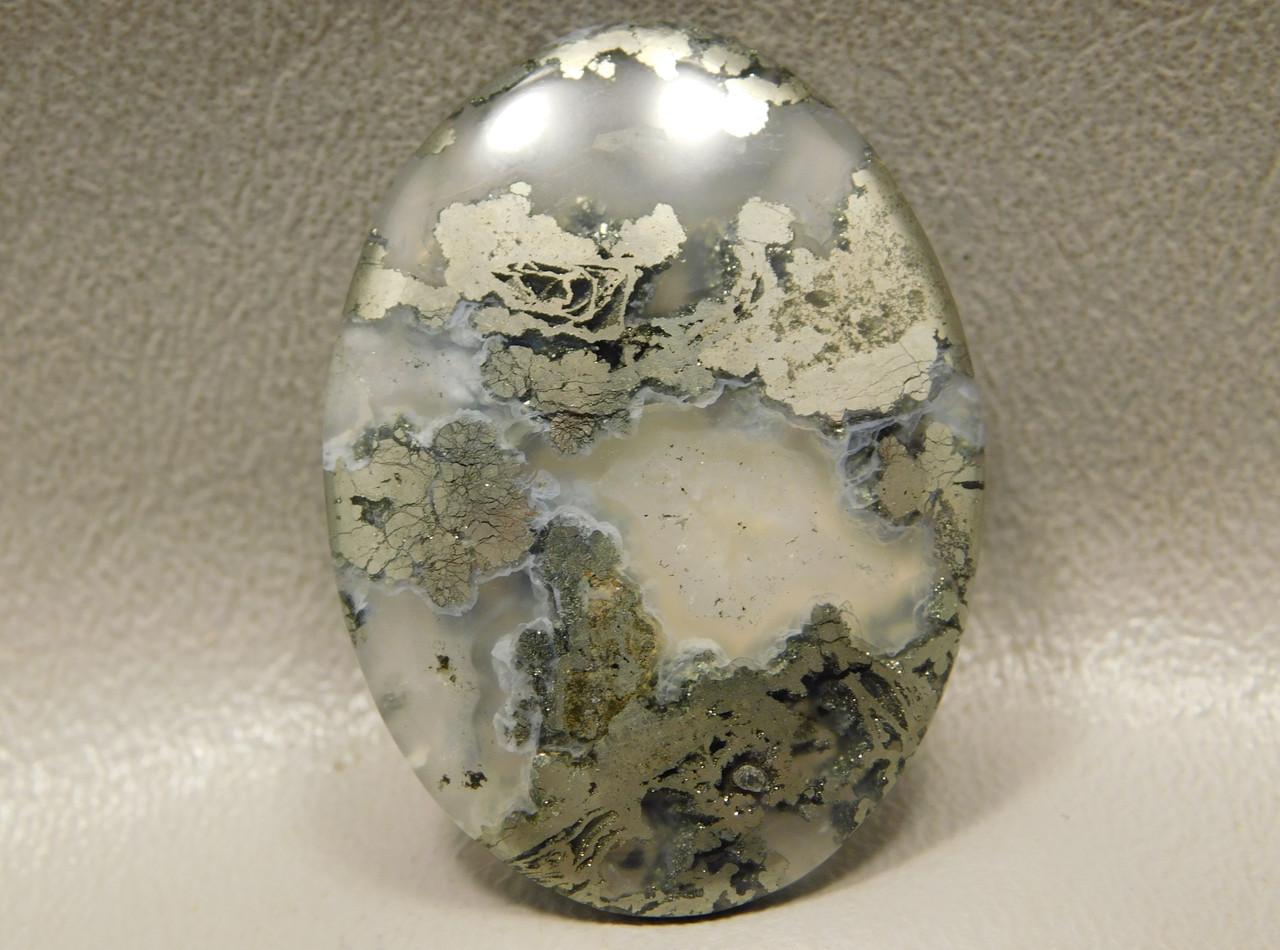 Nipomo Agate Stone Cabochon Semi Precious Gemstone California #4