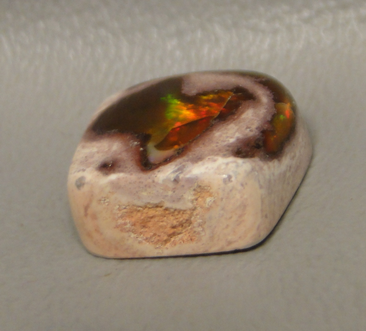 Mexican Fire Opal Cabochon #11