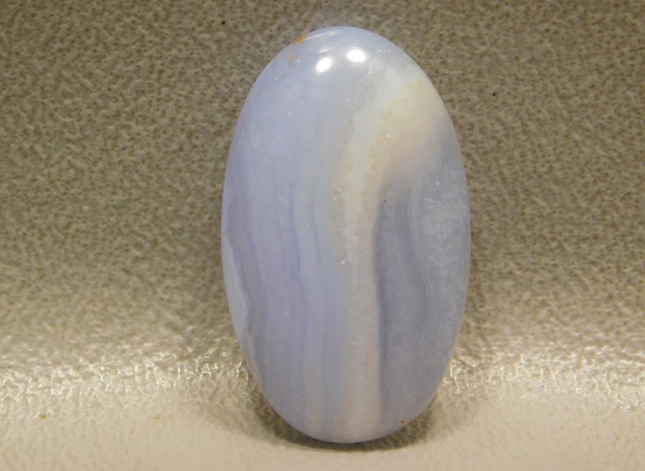 Blue Ice Agate Semi Precious Stone Designer Cabochon #7