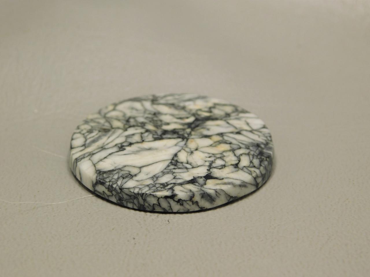 Pinolith or Pinolite 35 mm Round Gemstone Designer Cabochon #14
