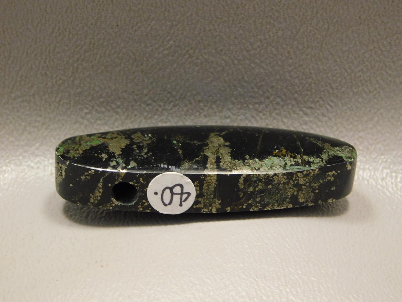 Apache Gold Stone Bead Pendant #1
