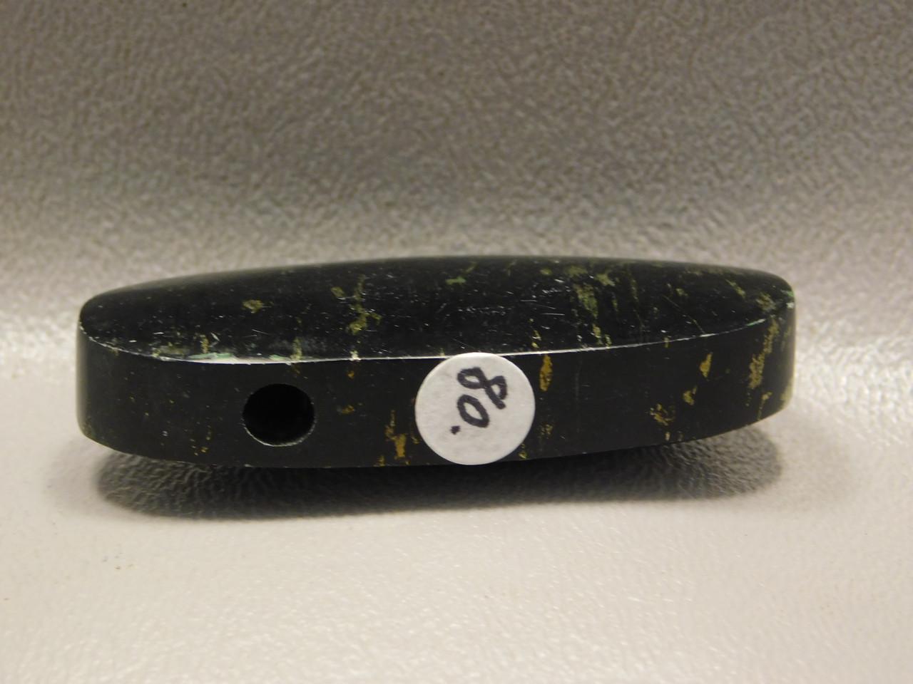 Apache Gold Stone Bead Pendant #8