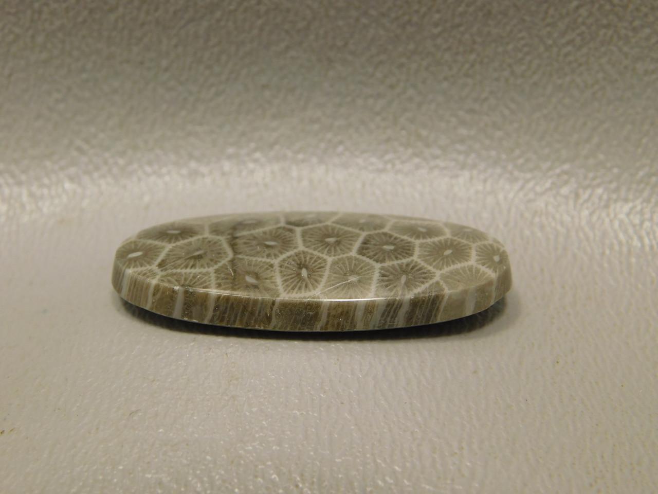Flower Jasper Cabochon Flat Back Stone for Jewelry Design #F10