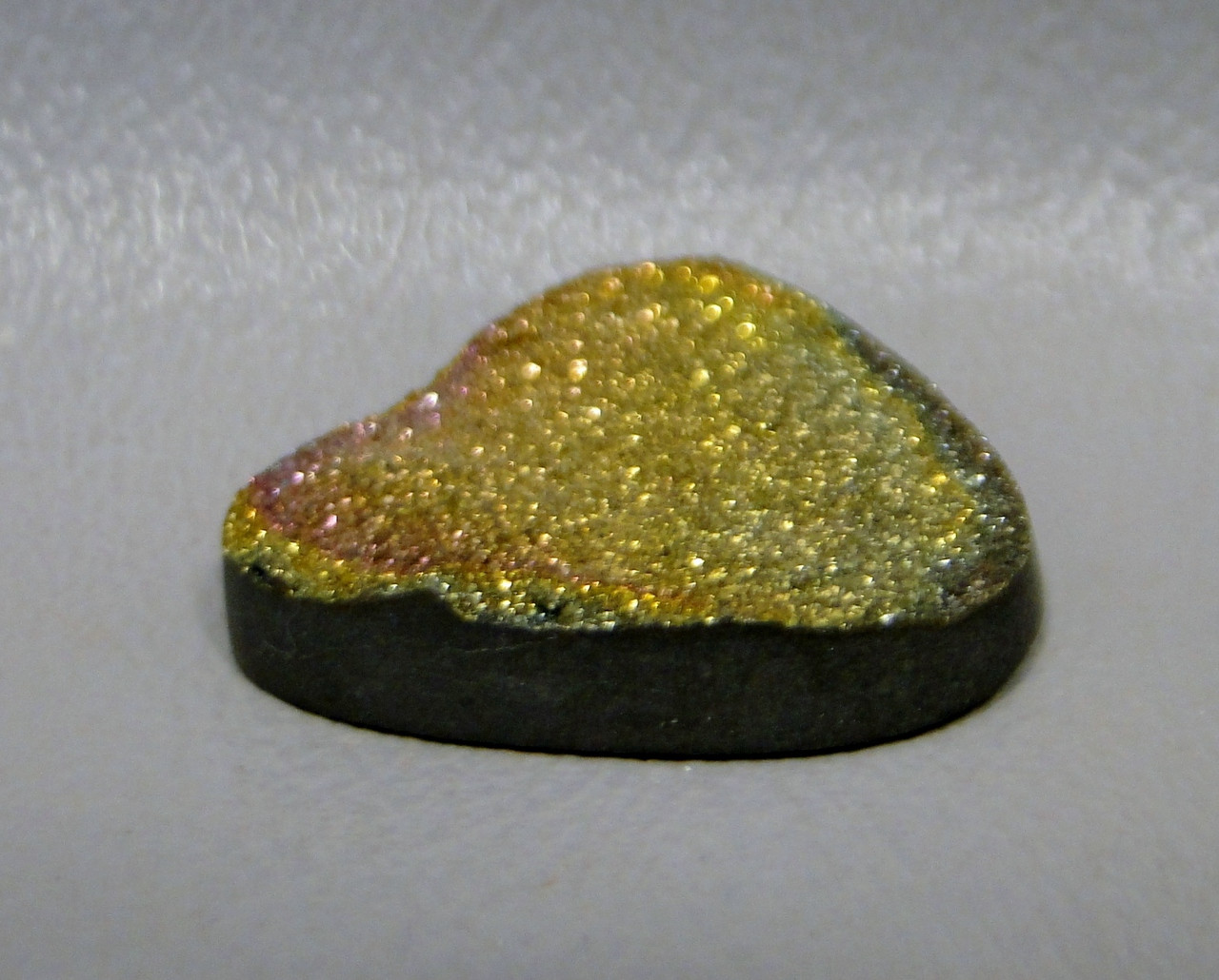 Rainbow Pyrite Iridescent Stone Cabochon #8