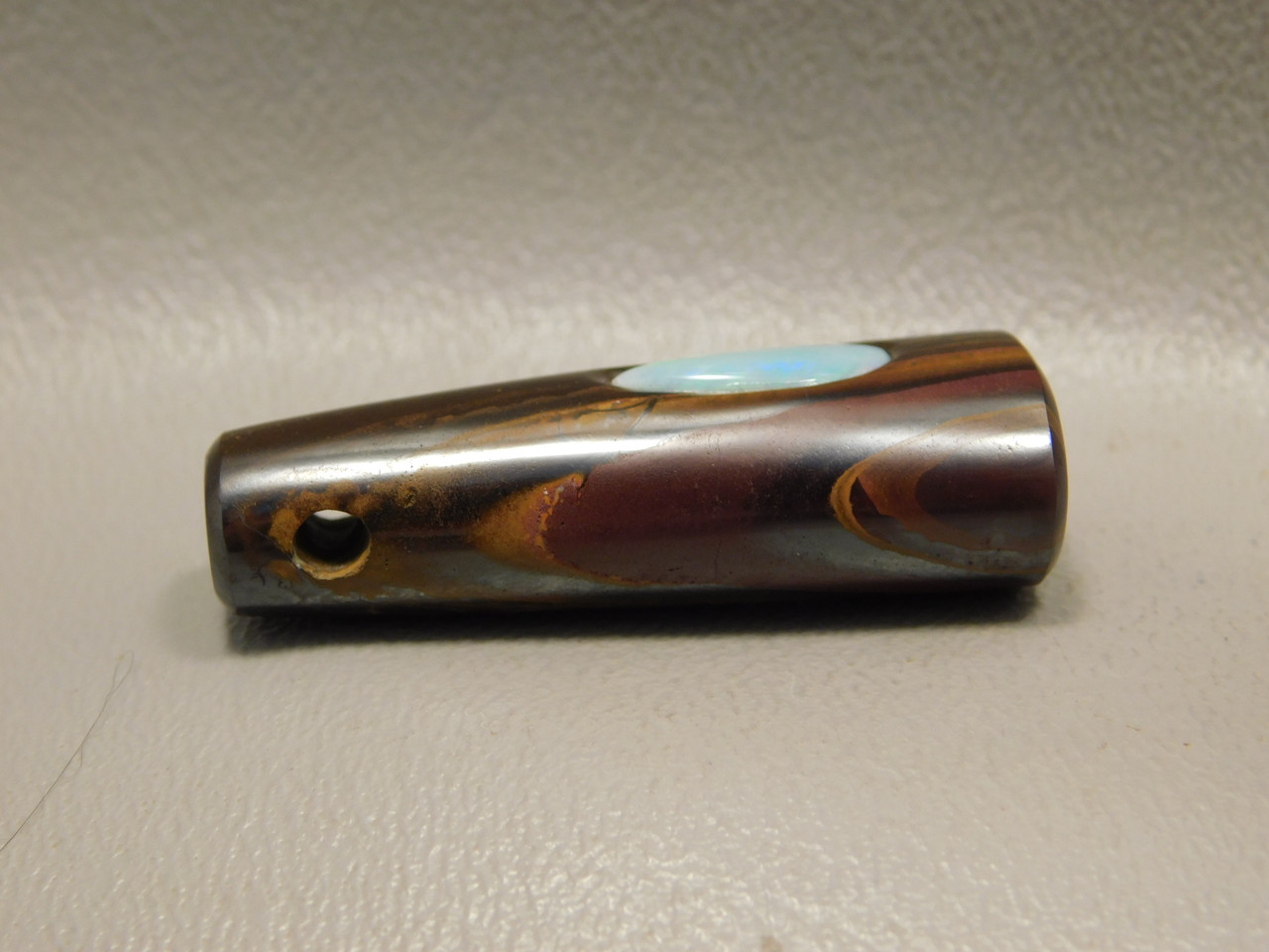 Korite Boulder Opal Gemstone Bead Pendant #B2