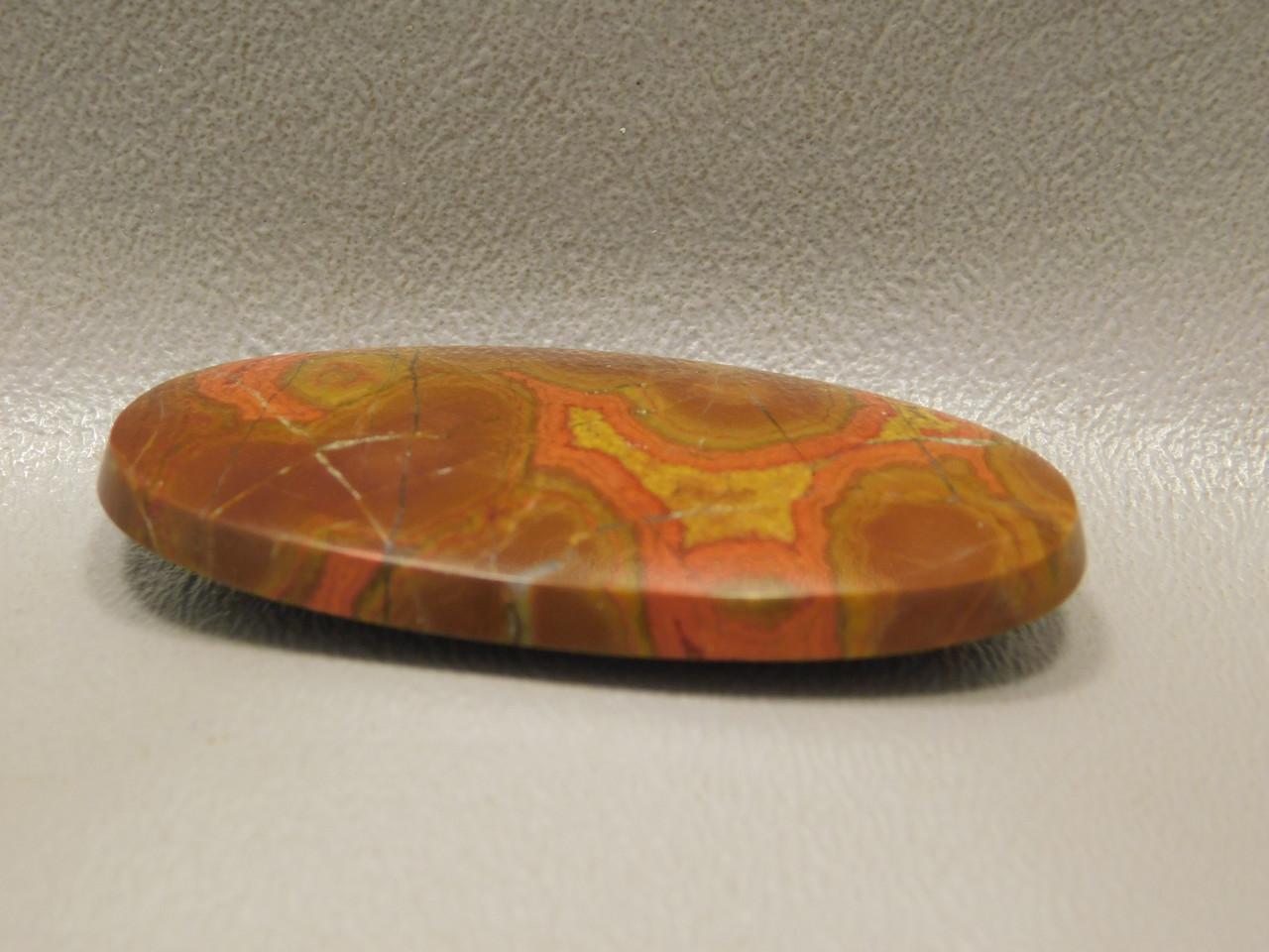 Morgan Hill Poppy Jasper Designer Cabochon Gemstone #21