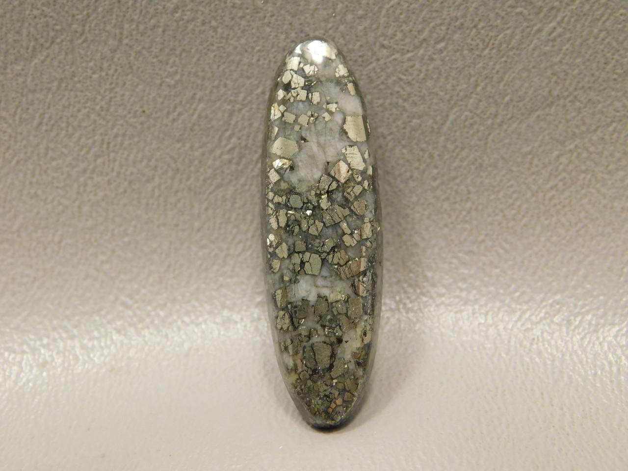 Pyrite Agate Designer  Cabochon Loose Stone for Jewelry Design #9