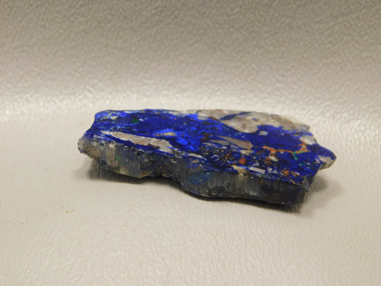 Azurite Malachite Freeform Small Polished Slab Cabochon #S2