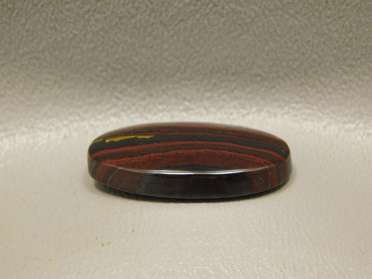 Tiger Iron Gold Red Black Cabochon #16