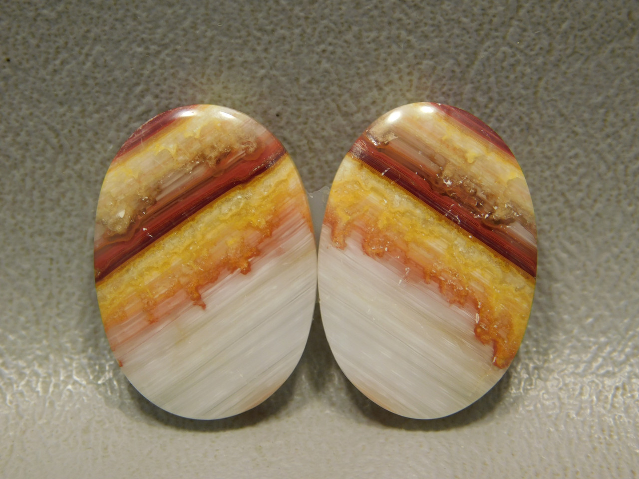Candy Opal Matched Pair Bubble Opal Cabochon Stone #11