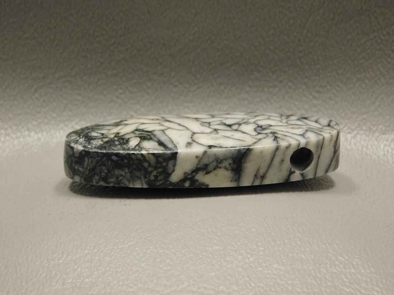 Pinolith Stone Bead Pendant #1