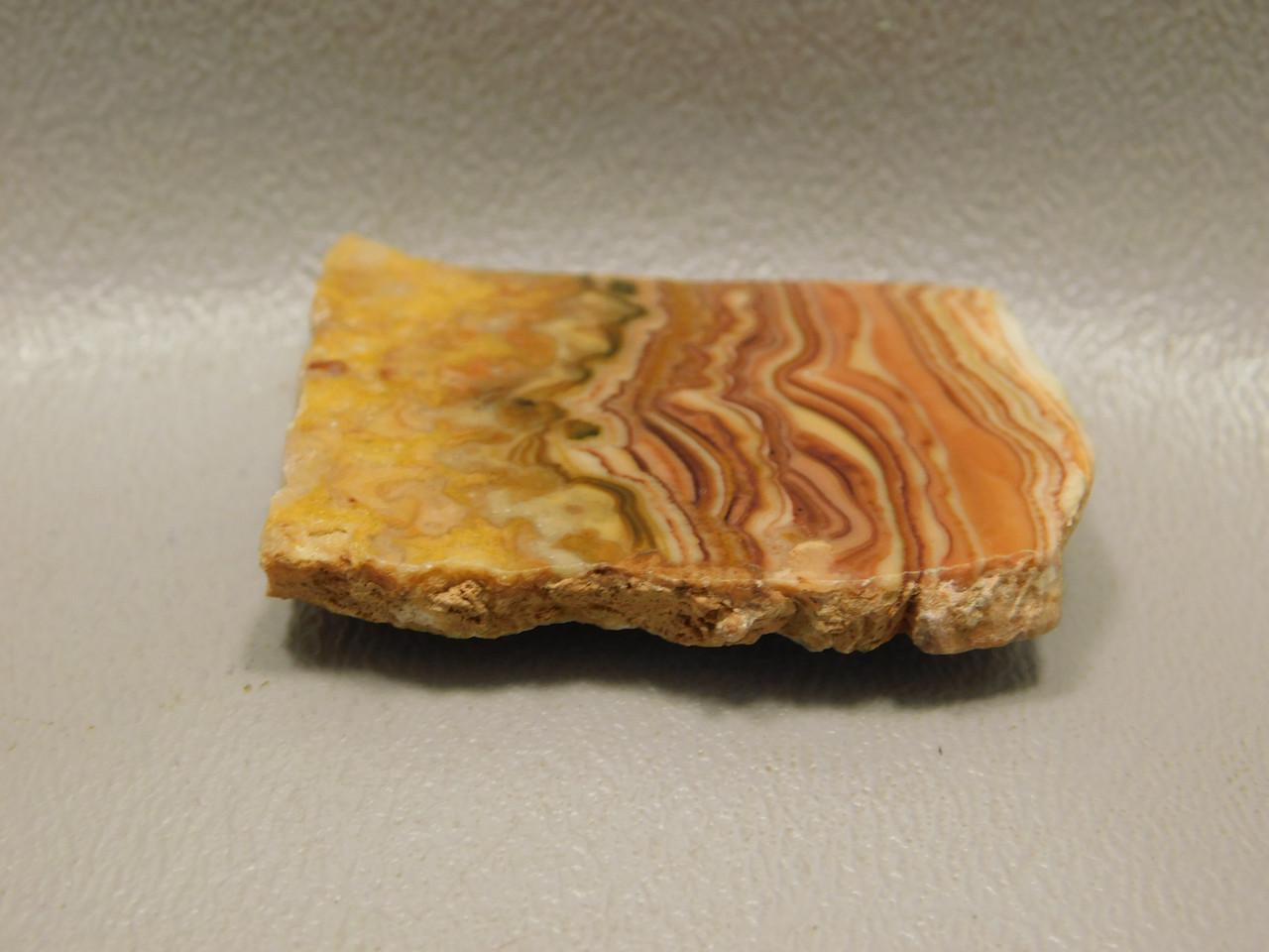 Wave Dolomite Natural Freeform Polished Slab Cabochon #S5