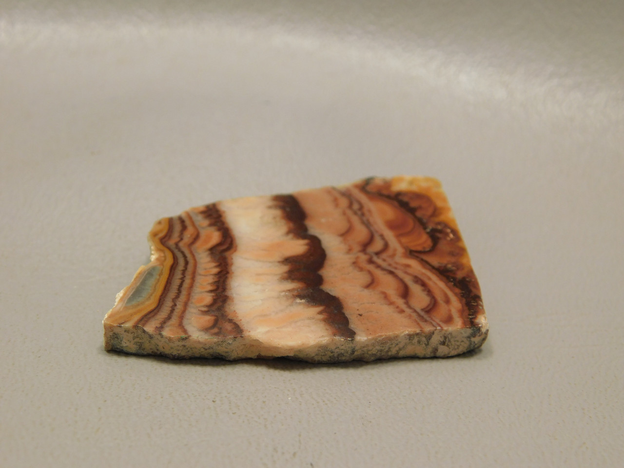 Rolling Hills Dolomite Natural Freeform Shaped Slab Cabochon #S3