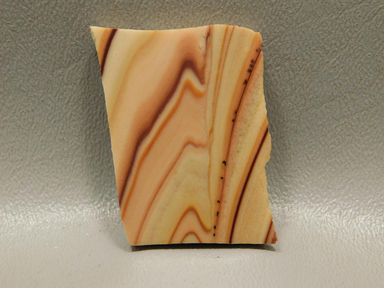 Wave Dolomite Semiprecious Stone Small Slab Cabochon #S12