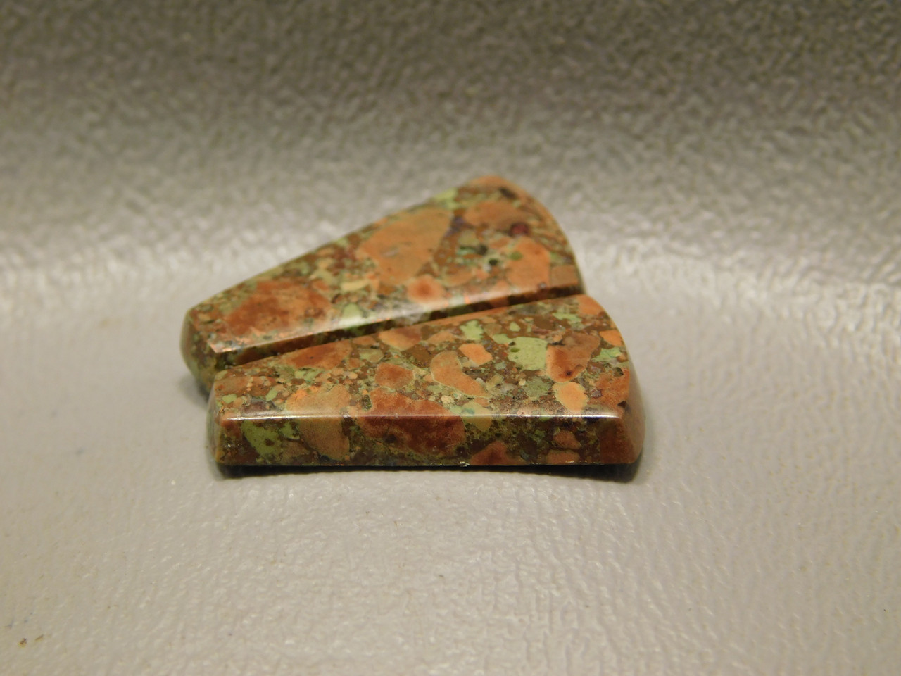 Copper Rose Matched Pair Cabochons #4