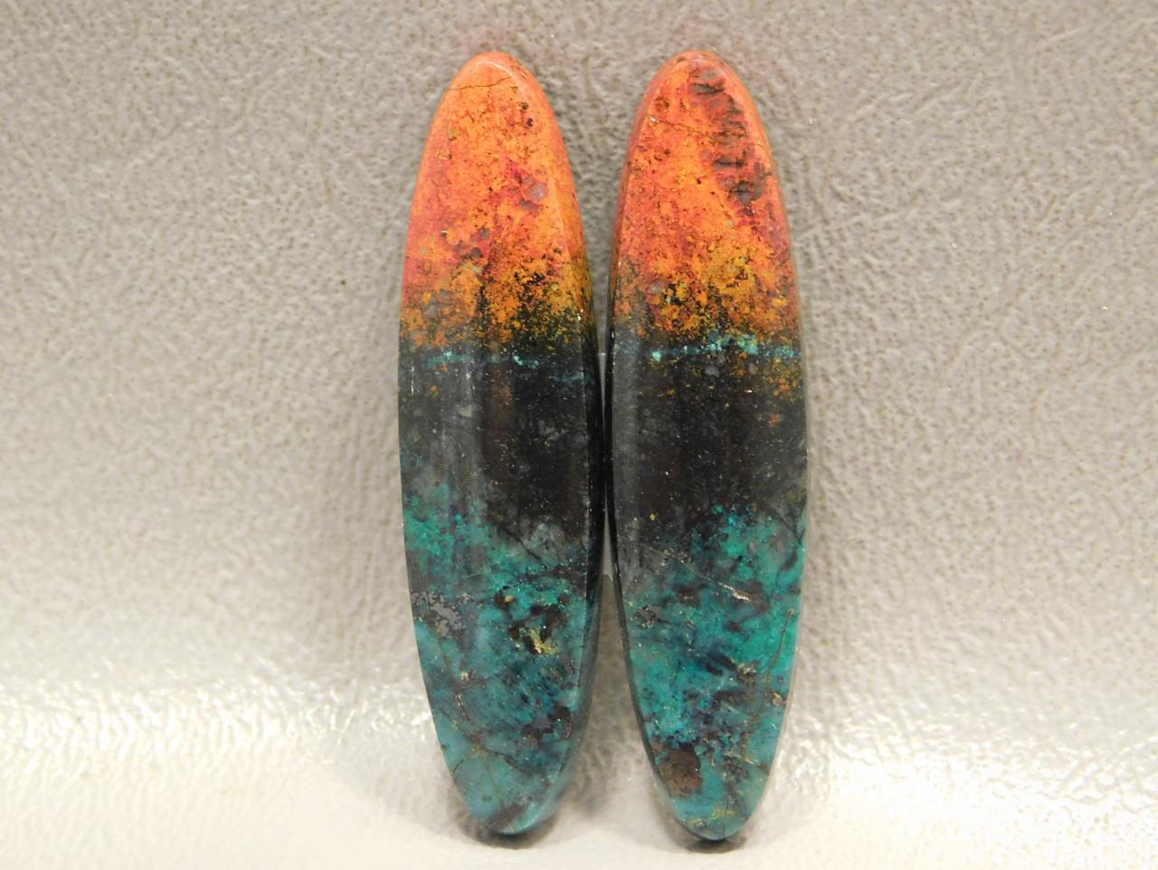 Sonora Sunset Chrysocolla Cuprite Cabochon Rocks Jewelry Making #2